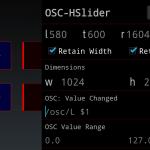 AndrOSCのテンプレート設定画面例